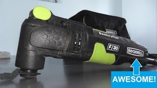Rockwell Oscillating Tool Review and Demo