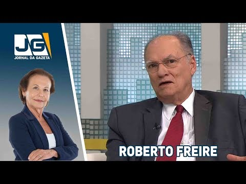 Roberto Freire, presidente do PPS, fala sobre as eleições