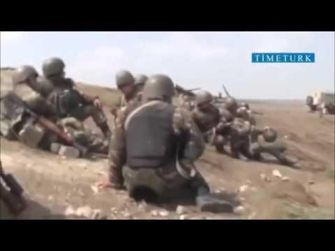 Армянский снайпер убивает азербайджанского солдата во время снимка