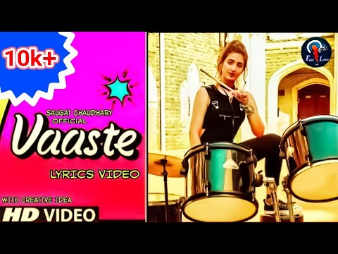 Vaaste Full Song With Lyrics: Dhvani Bhanushali | Nikhil D' Souza | Saugat Chaudhary