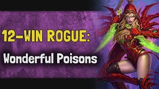 Hearthstone Arena KFT - 12 Win Rogue: Wonderful Poisons