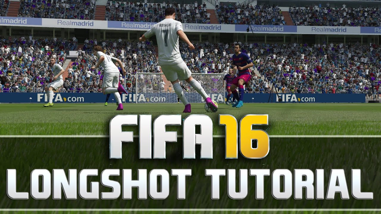 FIFA 16 LONGSHOT TUTORIAL - HOW TO SCORE INSANE GOALS - TIPS AND TRICKS