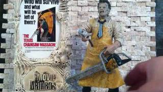 TODD MCFARLANE MOVIE MANIACS THE TEXAS CHAINSAW MASSACRE: LEATHERFACE