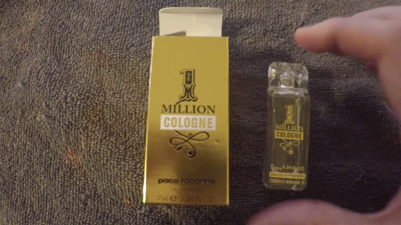 1 Million By Paco Rabanne Cologne Review Youtube