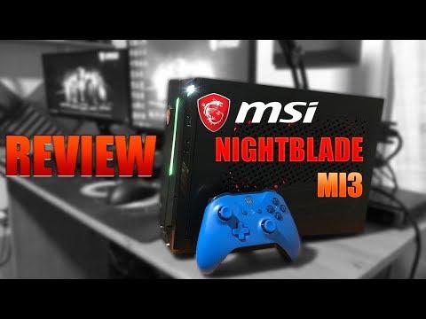 MSI NightBlade MI3 - Review - PC Compacto para jugar a todo!