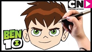 Ben 10 Drawing | How to Draw Ben 10 and More! | Cartoon Network