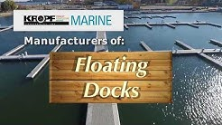 Kropf Marine Floating Dock Systems 2018