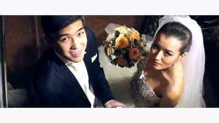 Свадьба в Казахстане Wedding Day of Mirzat & Sana by Bekmurza Brothers +77012557317