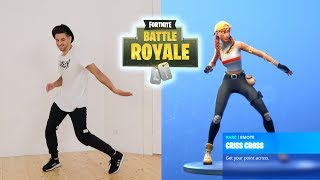 Train Fortnite Dances in Real Life | CrisCros with patroX