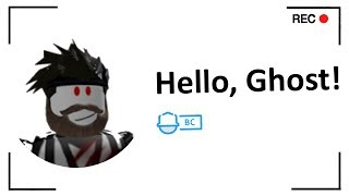 I Logged Onto The Ghost's Roblox Account..