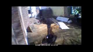 Self Build Timelapse Week 26 Soil Pipes & Fencing