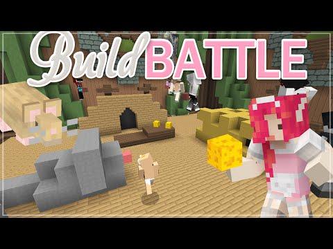 Minecraft BUILD BATTLE ♡ Mouse!