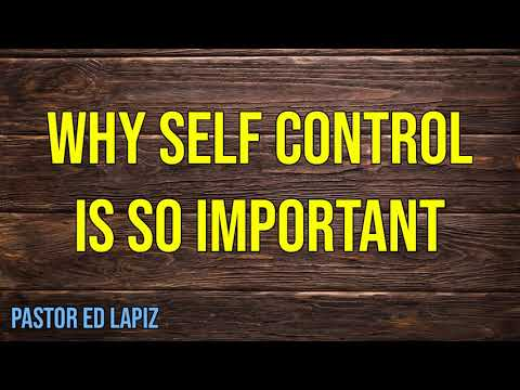 self control in christian dating