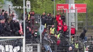 SV Babelsberg 03 vs. FC Energie Cottbus (Pyro und Platzsturm)