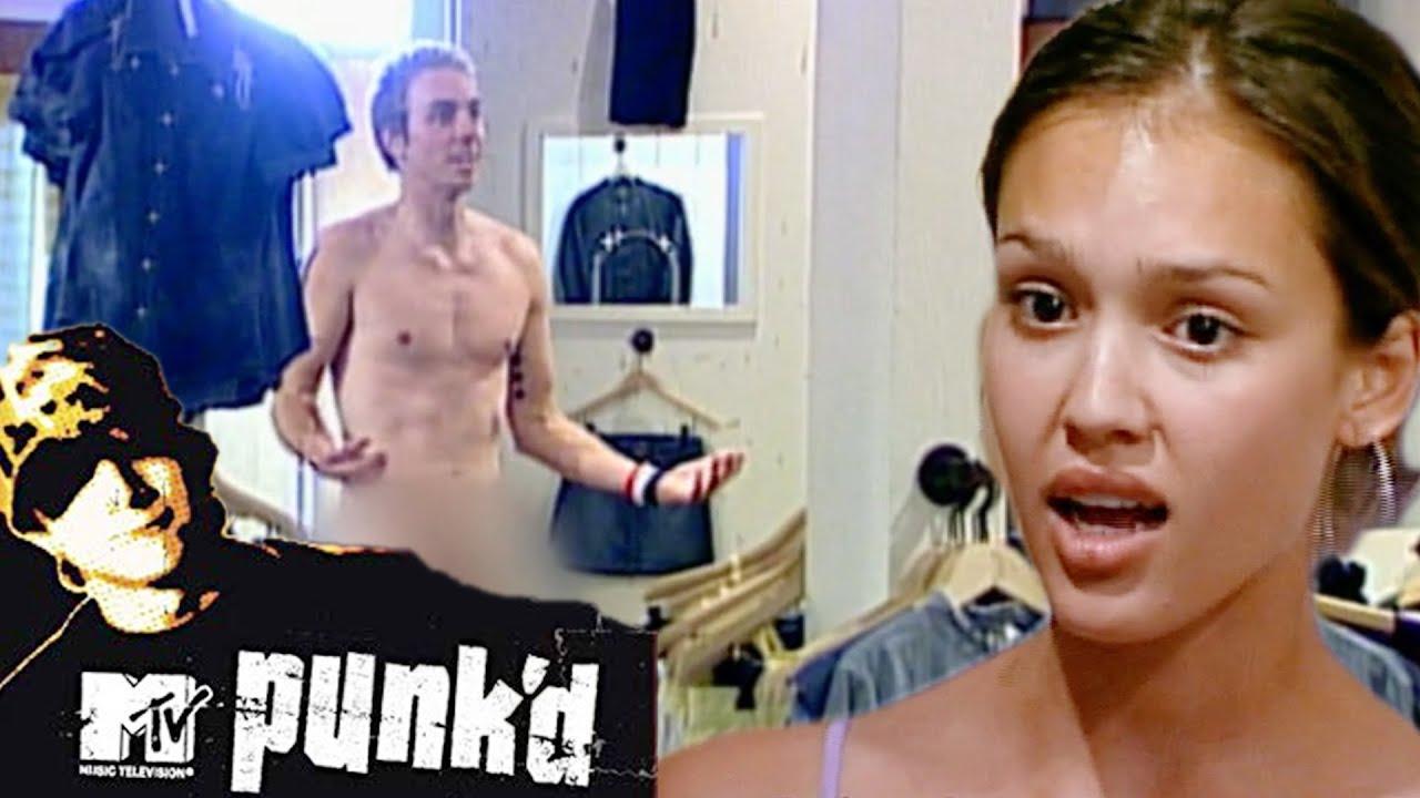 Jessica Alba erlebt nackte Überraschung beim Shoppen   Punk'd   MTV Deutschland