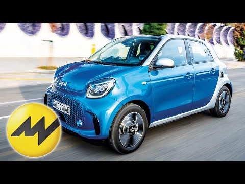 Smart Forfour – Facelift For The Small Electric City Car
