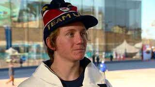 Red Gerard chats with WKYC's Will Ujek to reflect on gold medal