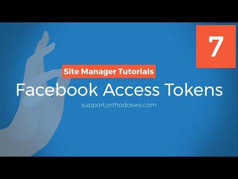 7. Facebook API Access Tokens