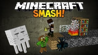 Minecraft: SMASH - Best Minigame Ever! (Knock Your Opponents Into The Void)