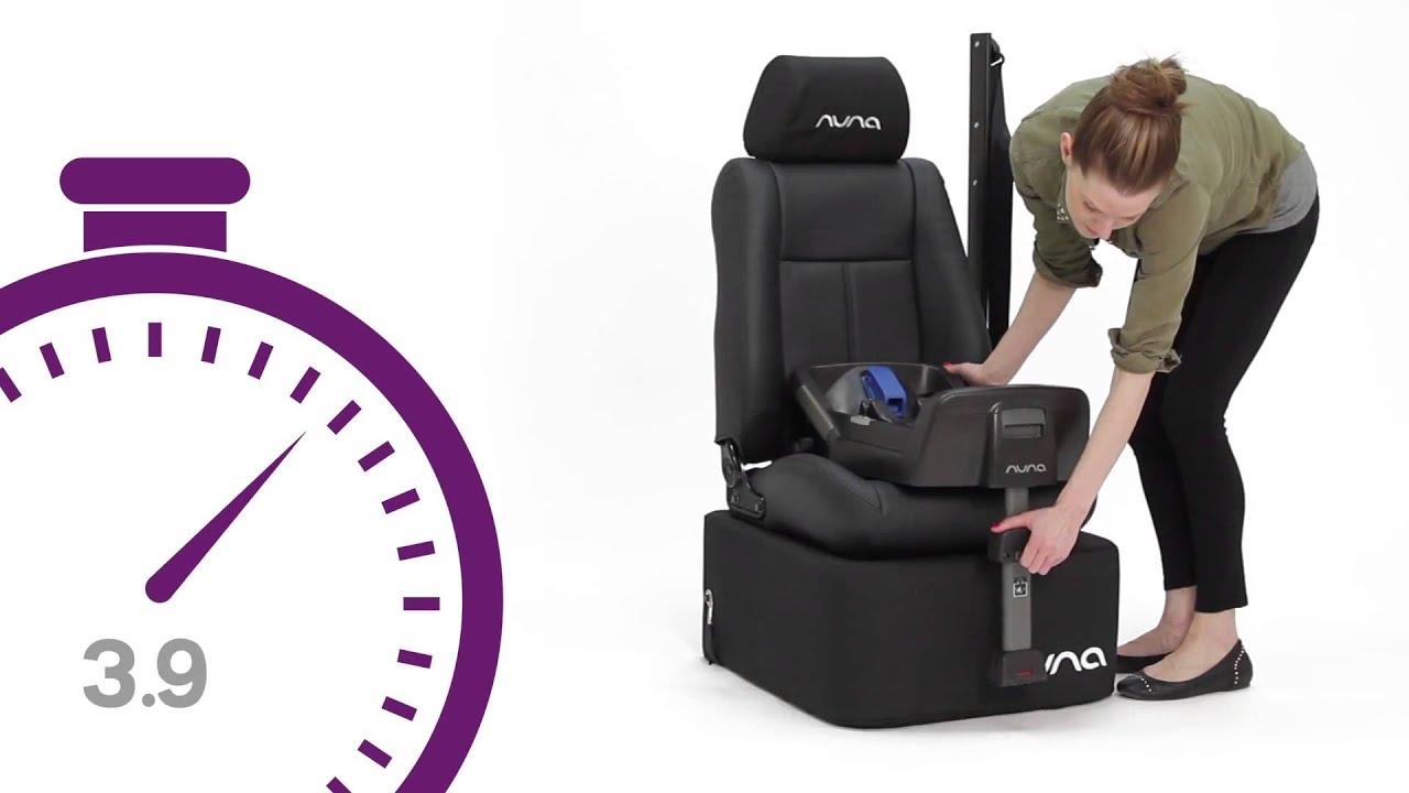 JustKidding for Nuna PIPA Infant Car Seat base Demo