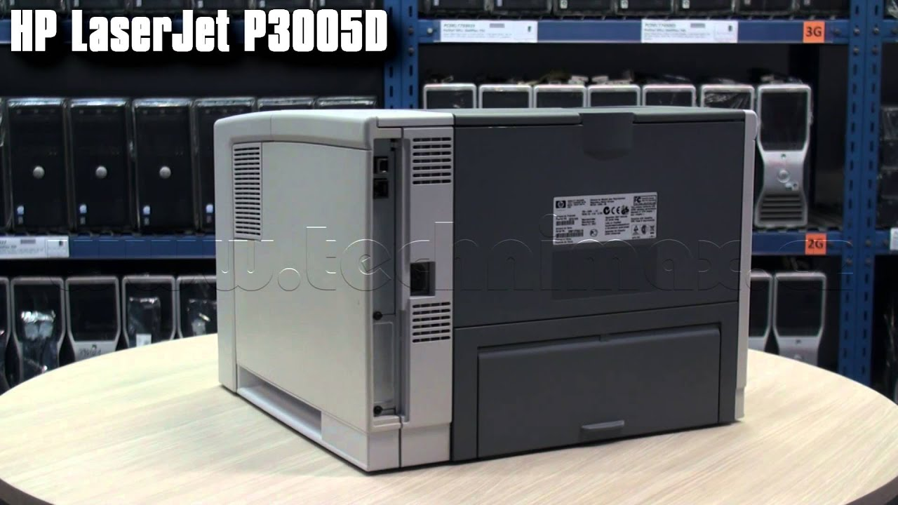 LASERJET 3005D DRIVERS PC