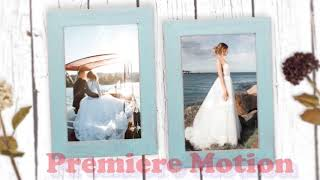 슬라이드 쇼-결혼 사진으로 비디오를 만드십시오