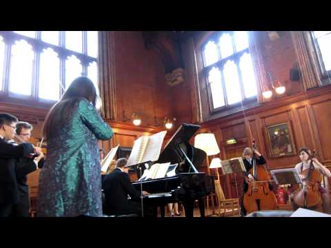 Girton College May week concert