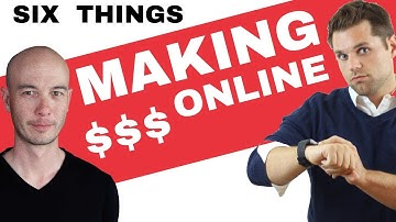 6 Things We Learned About Making Money Online with Ron Stefanski