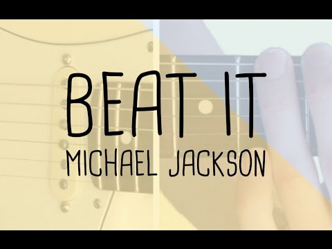 how to play the riff beat it michael jackson guitar lesson tabsheet youtube. Black Bedroom Furniture Sets. Home Design Ideas