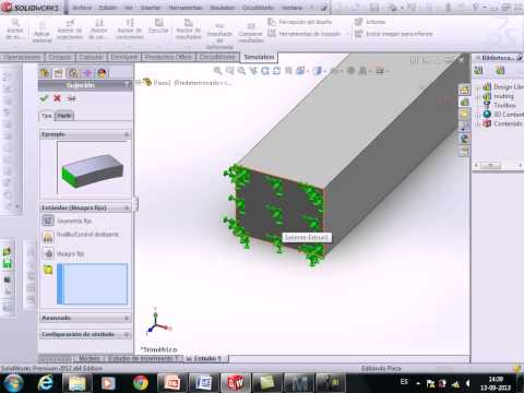 example-of-finite-element-method-solidworks-2012
