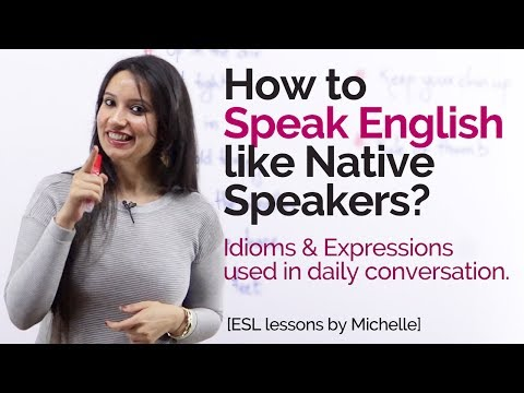 How To Speak English Like Native Speakers
