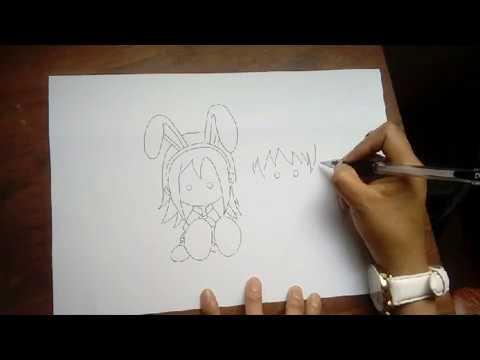 como dibujar una pareja de emos enamorados-rapido/How to draw a love couple in love-fast
