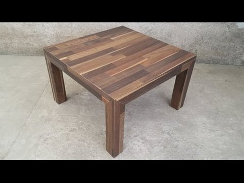 Laminate floor table 1