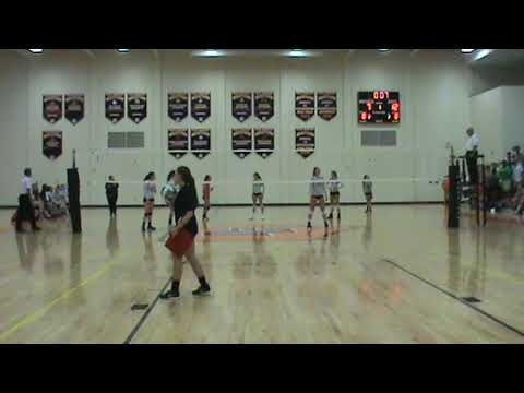 Reagan Volleyball vs. Davie 9/26/17