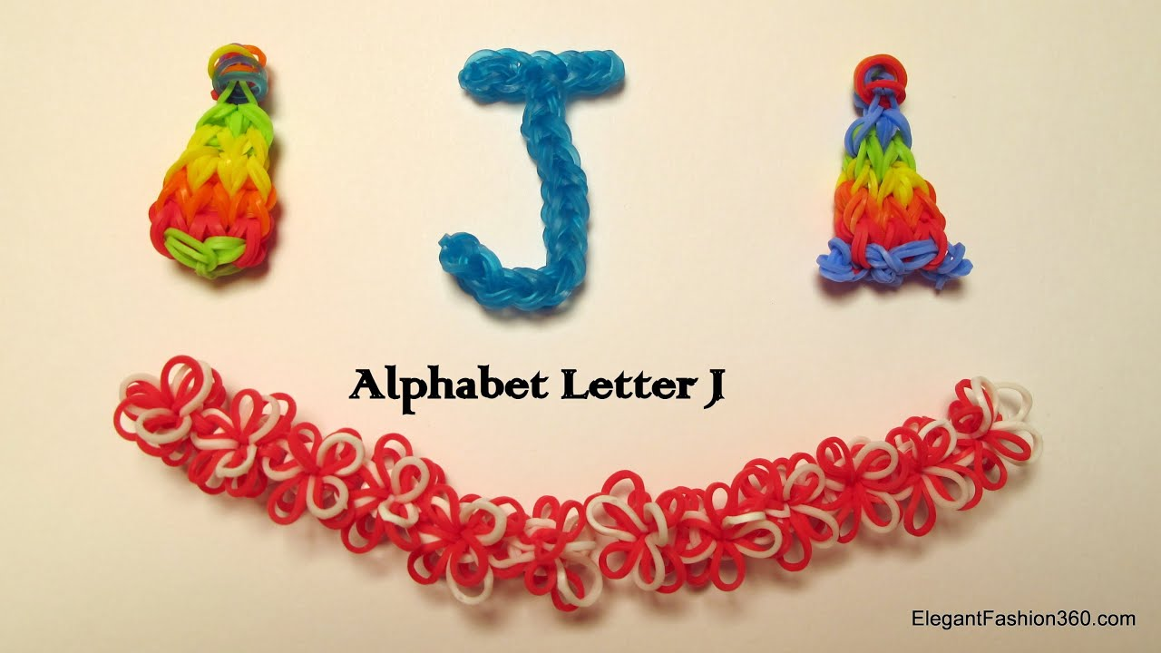 new quick youtube loom rainbow christmas easy letter charm alphabet stocking bands watch alpha