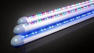 видео Люминесцентные направленные светильники