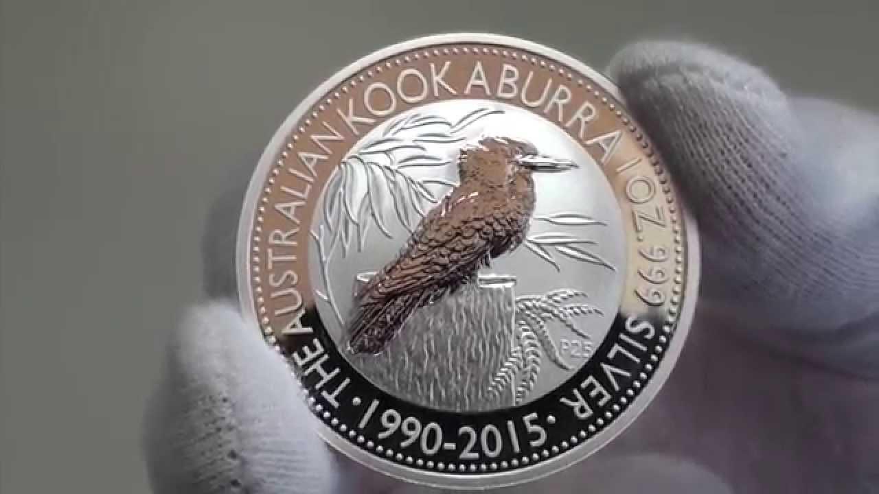 2015 Australian Kookaburra Released By The Perth Mint