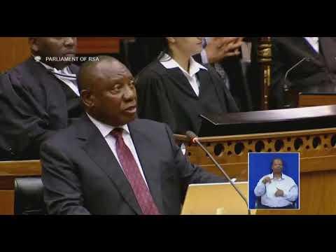 Cyril Ramaphosa  Shuts Malema #SONAReply