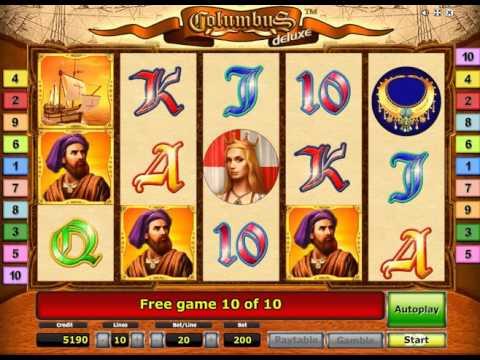 Columbus Deluxe Slot - Mega Big Win