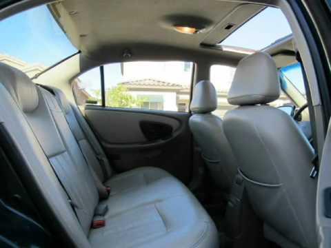 2001 Chevrolet Malibu Sedan Ls Sun Roof Leather Seats