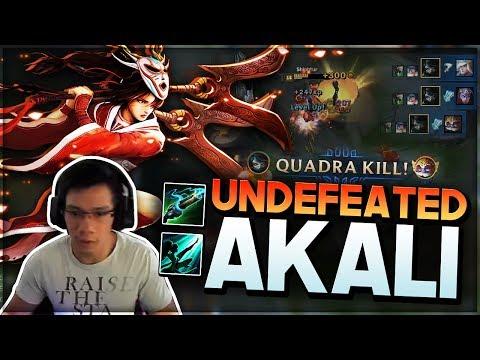 Shiphtur | THE UNDEFEATED AKALI AGAINST HUHI!!!