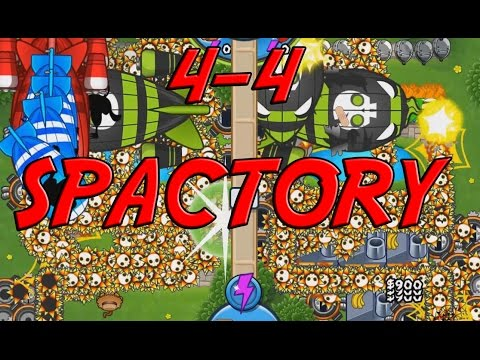Bloons TD Battles MODS! 4-4 Spike Factory - EXPLOSIVE SPIKE CANNON