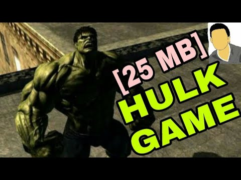 Download The Incredible Hulk Game | [25MB] For Free On Any Android Device With Proof (Hindi/Urdu)