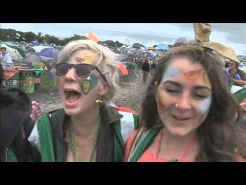 Glastonbury Festival - a film by Jason Bryant. Edited by Malcolm Smele. Music by Pinstripe