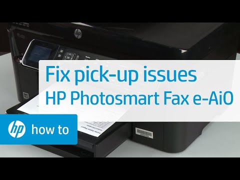 Fixing Paper Pick-Up Issues - HP Photosmart Premium Fax e-All-in-One Printer (C410a)