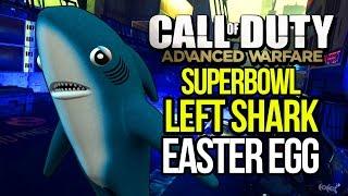 ADVANCED WARFARE: LEFT SHARK! SUPERBOWL HALF TIME SHARK EASTER EGG