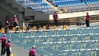101年全國大專院校田徑公開賽男甲110公尺跨欄預賽