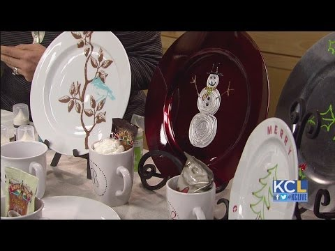 KCL - DIY Gift Idea: Personalized Plates and Mugs