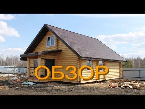 ОБЗОР ДОМА ИЗ БРЕВНА Ф240