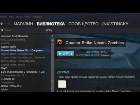 Проблема с Запуском (уже запущено) - Counter-Strike Nexon: Zombies